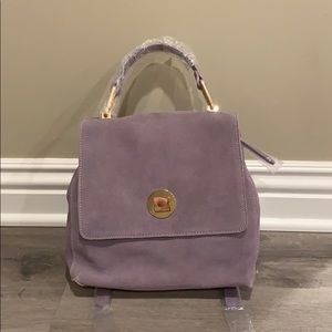 Handbags - Cute lavender handbag / backpack